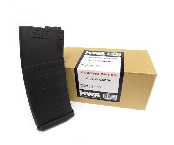 197-04096 KWA K400 Magazine- Black 3 Pack