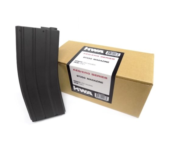 197-04094 KWA ST350 AEG/ERG Series 350 Round High-Cap Magazine (3-Pack)