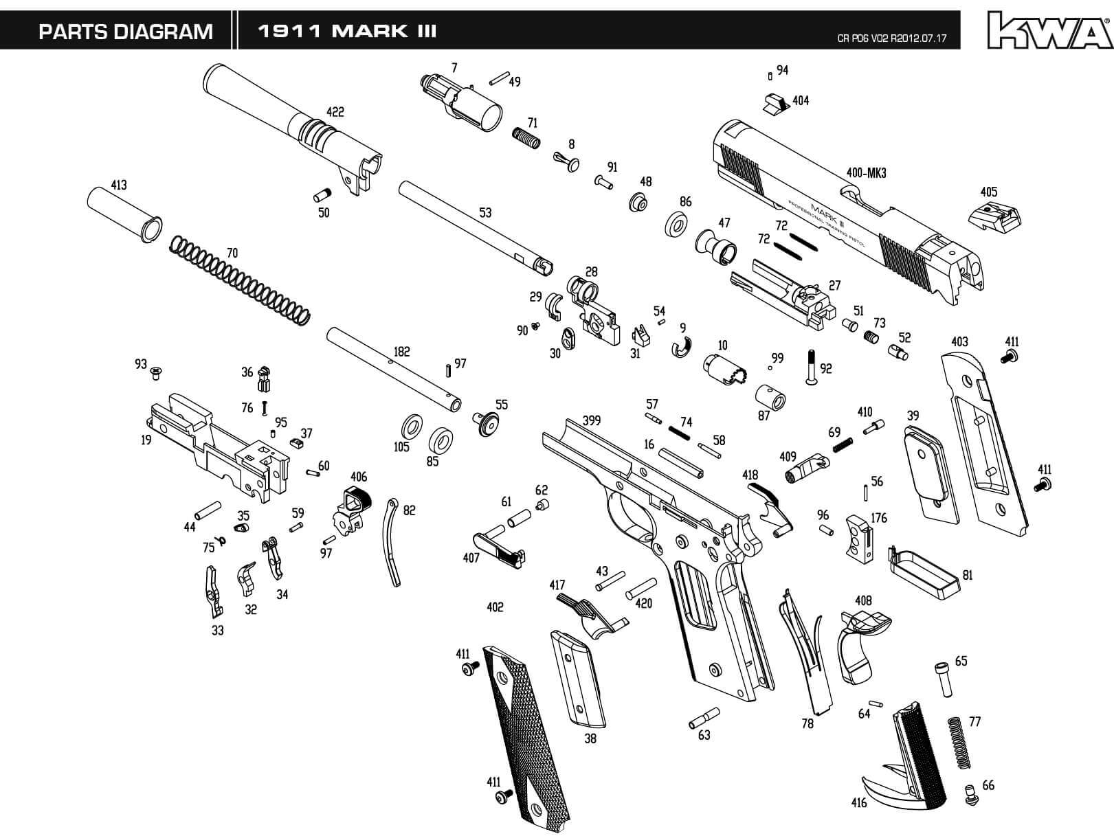 Downloads Kwa Airsoft 22 Rifle Parts Diagram Engine Car And Component M1911 Mk Iii