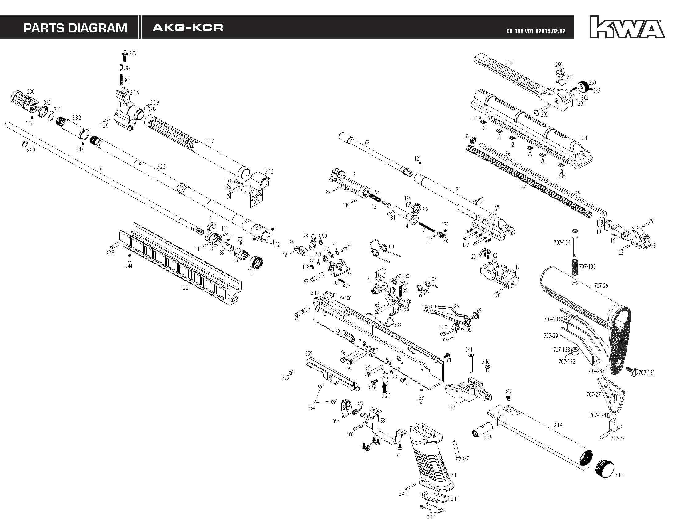 Downloads Kwa Airsoft 22 Rifle Parts Diagram Engine Car And Component Gbbr Lm4 Akg Series