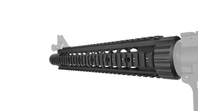 197-78383 KWA Guardian Rail Kit for AEG2 rear view