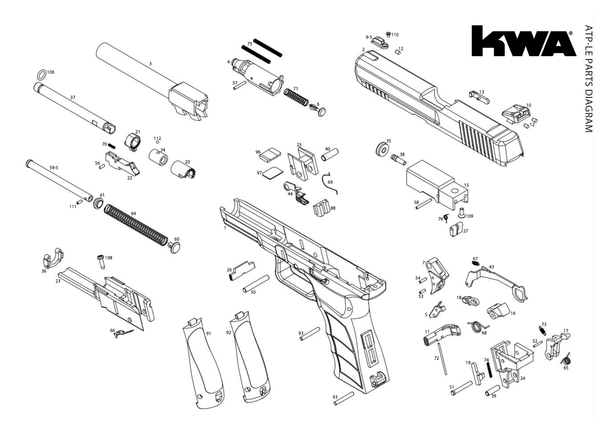 Downloads Kwa Airsoft 22 Rifle Parts Diagram Engine Car And Component Gbb Pistols