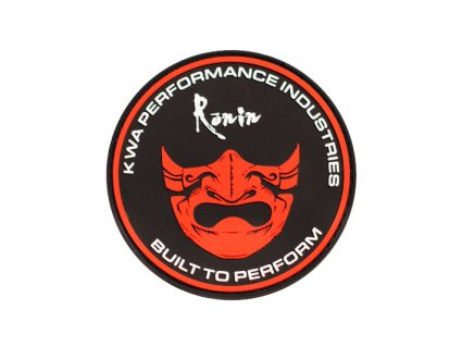 Ronin Mask PVC Patch