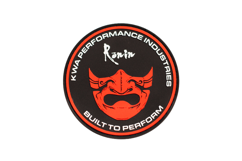 Ronin Mask PVC Patch