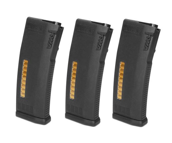 197-4301 KWA MS120c MidCap 120 Round Magazine 3-Pack